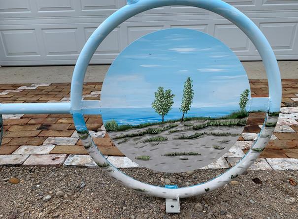 Jessica Byers, Bike Rack Detail