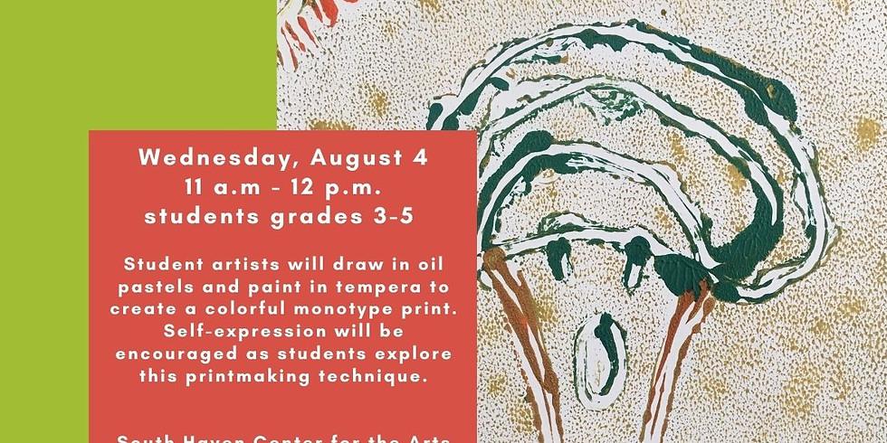 Paint a Print, Children's Art Class Grades 3-5