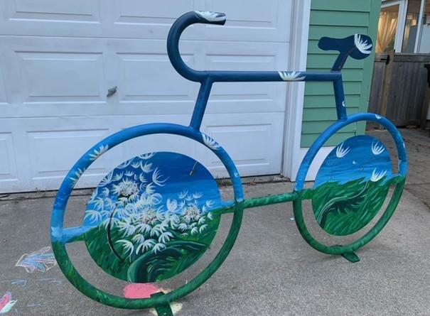 Diana Densmore, Finished Bike Rack