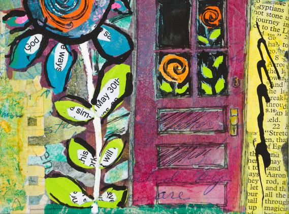 """""""Red Door"""" by Alisa Clark"""