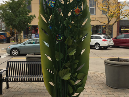 Public Sculpture Growing in South Haven