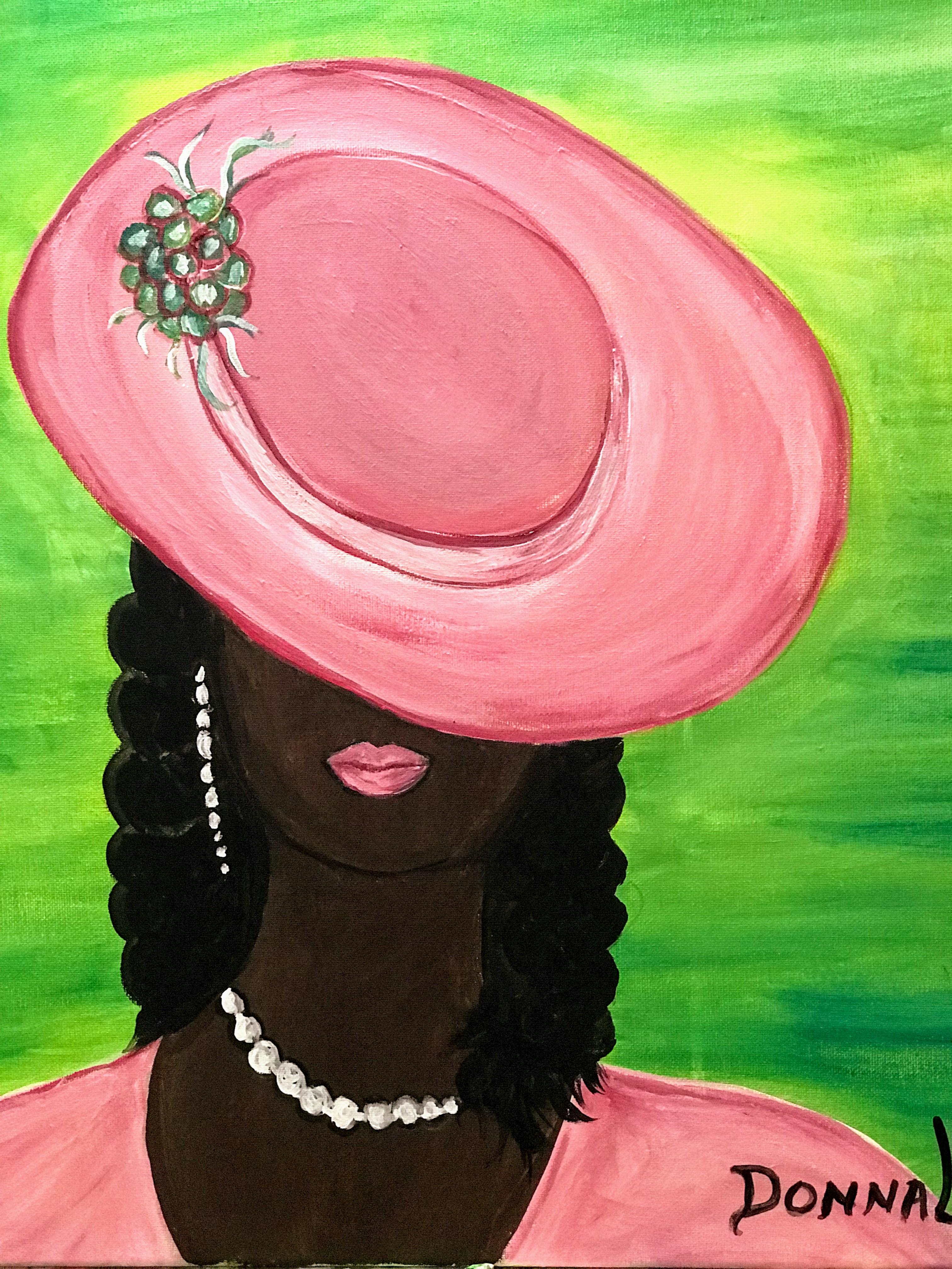 Women in Hats #8A