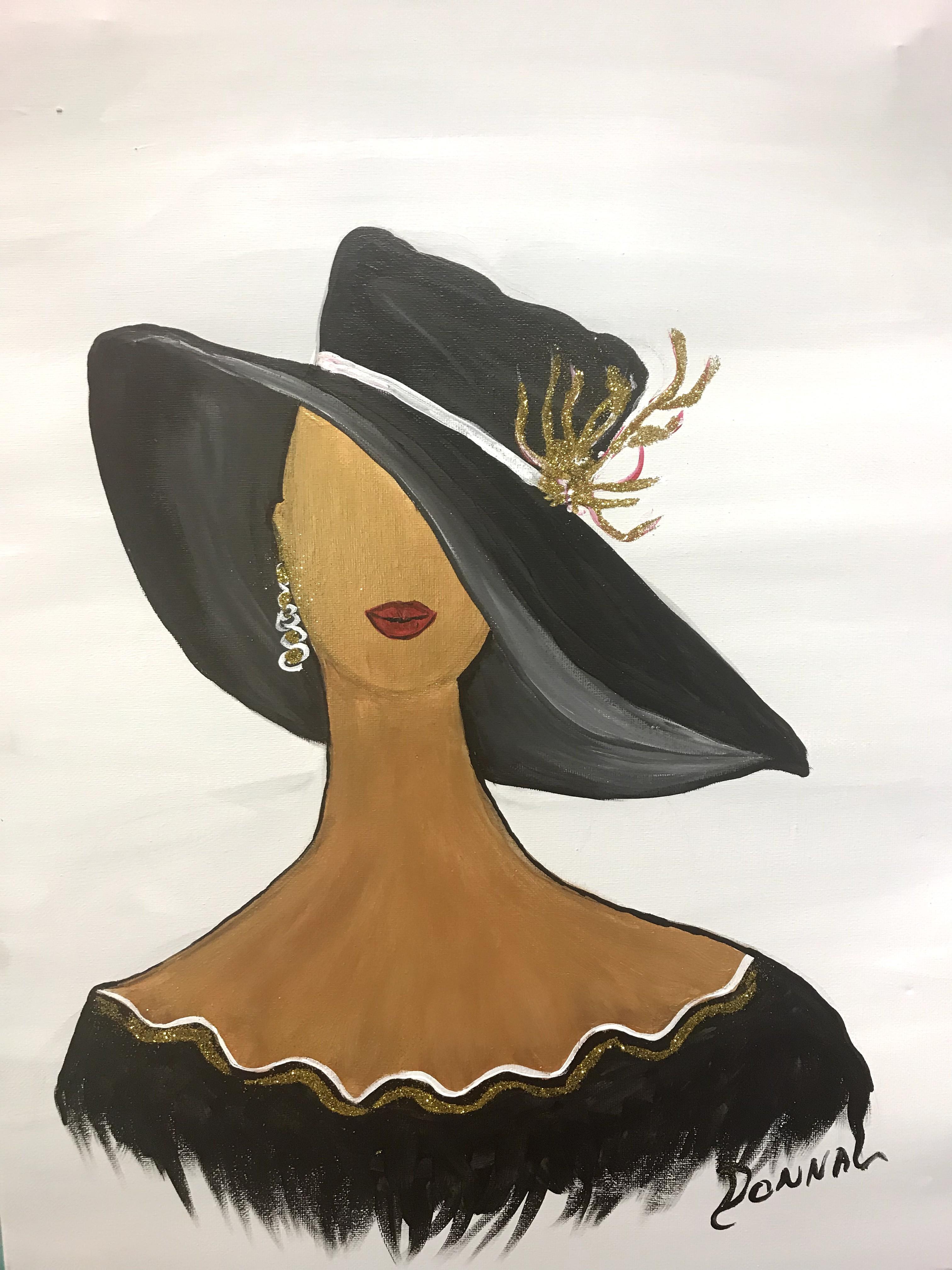 Women in Hats #6A