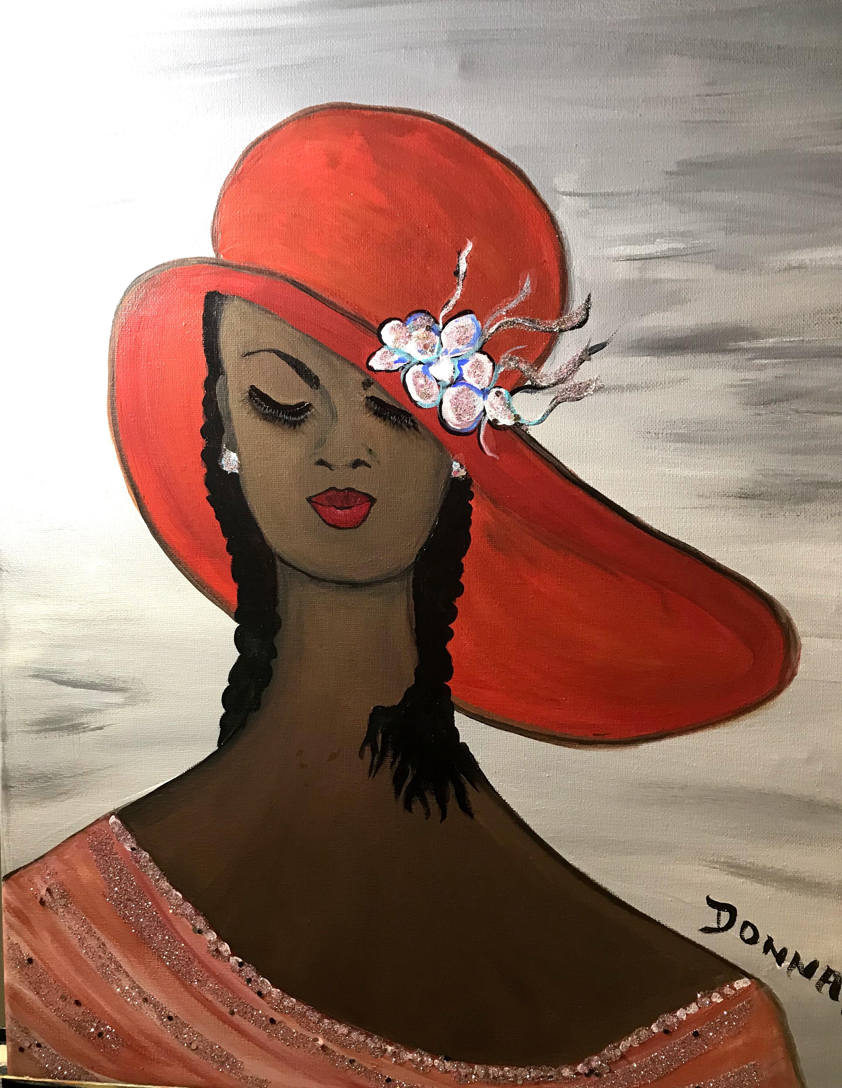 Women in Hats #9