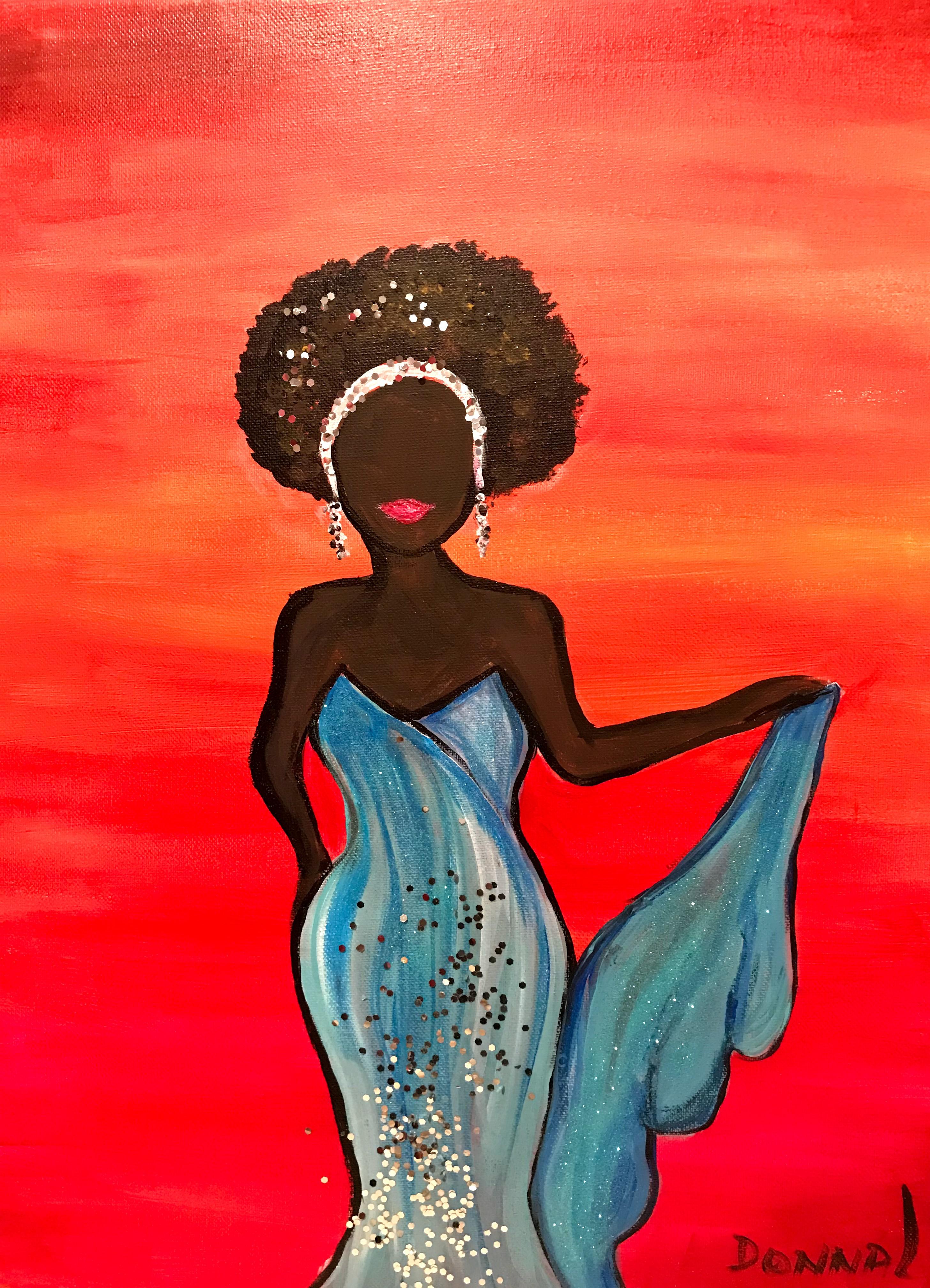 Afro Women #59