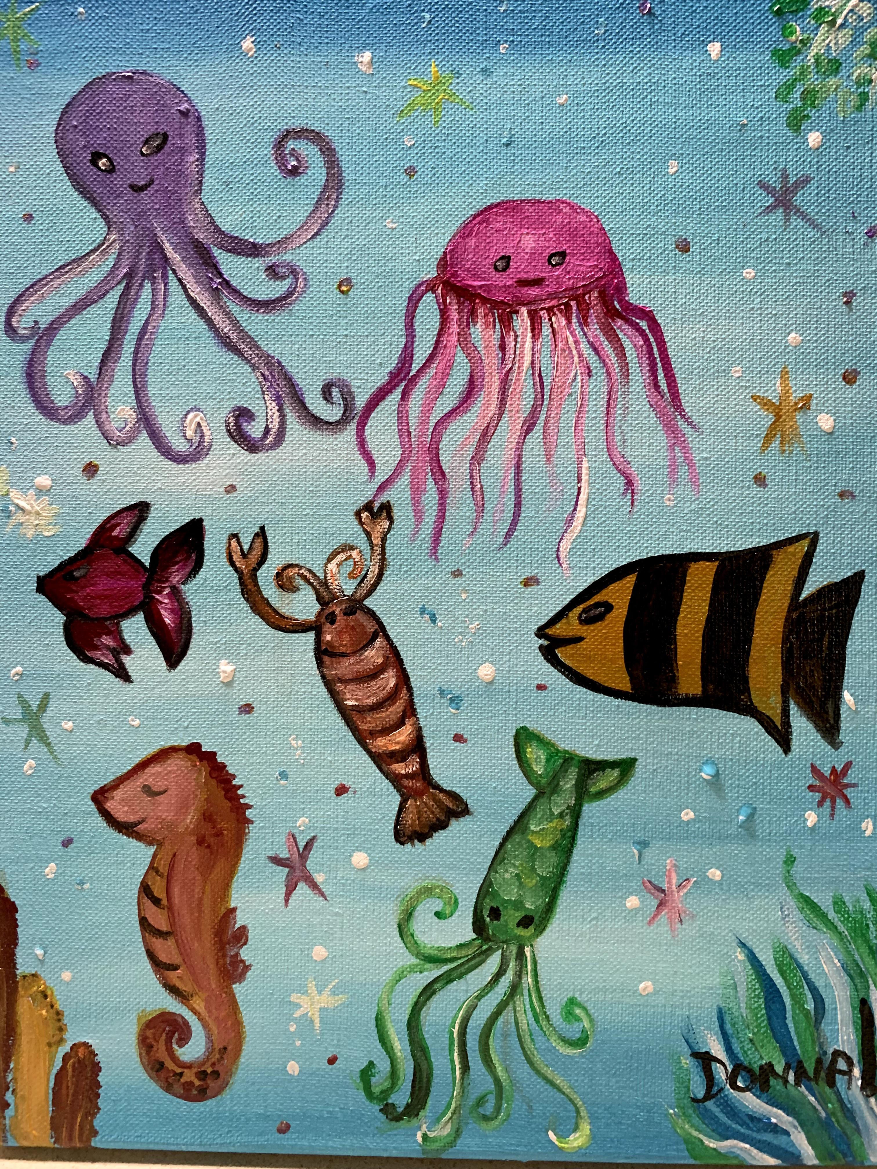 Sea creatures #113