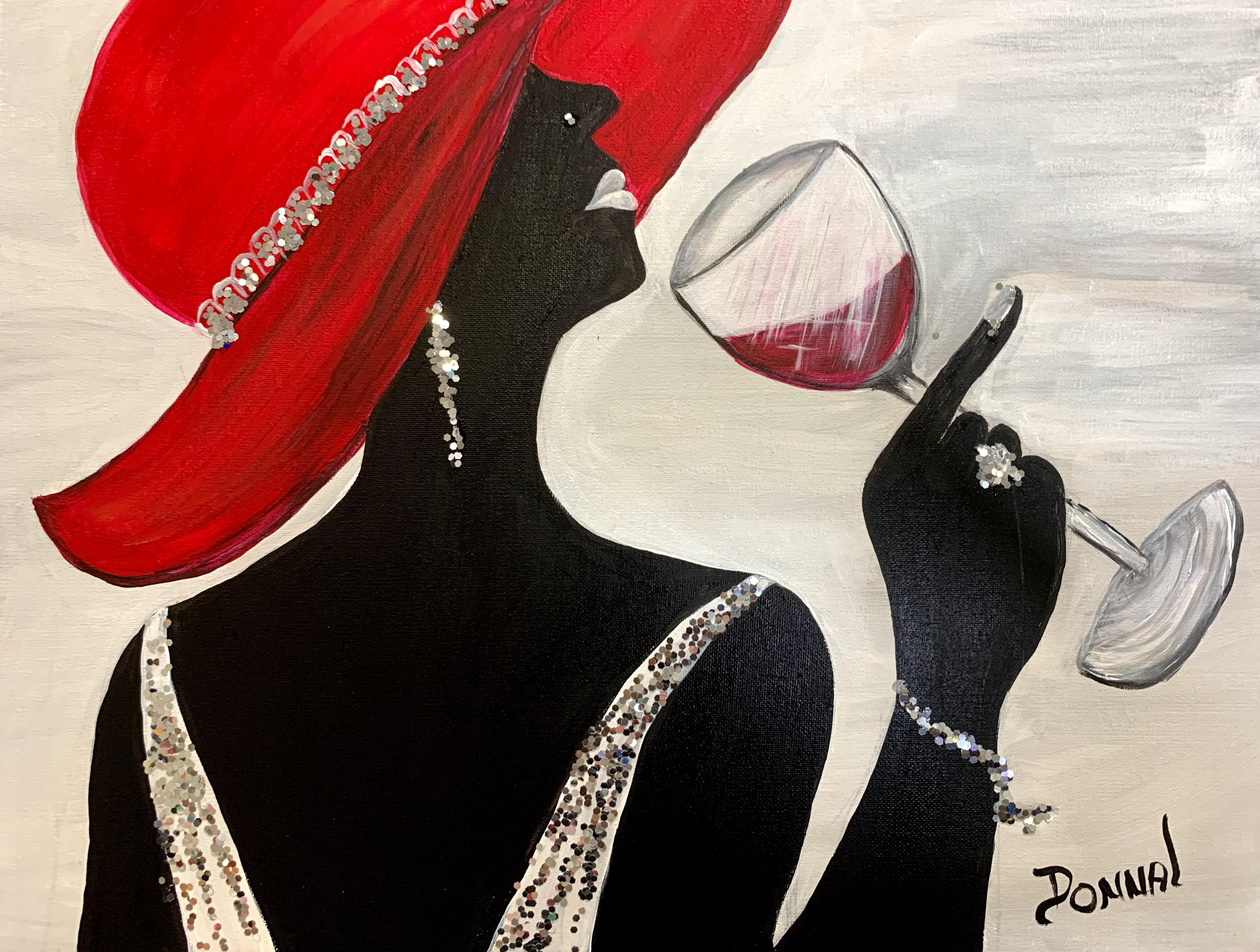 Women in Hats #7A