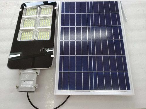 150W Solar Street Light Outdoor Remote Control Dusk Sensor