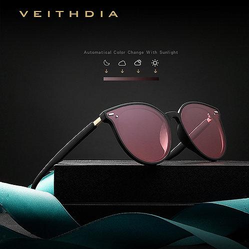 Photochromic Womens Sunglasses Polarized Mirror Lens