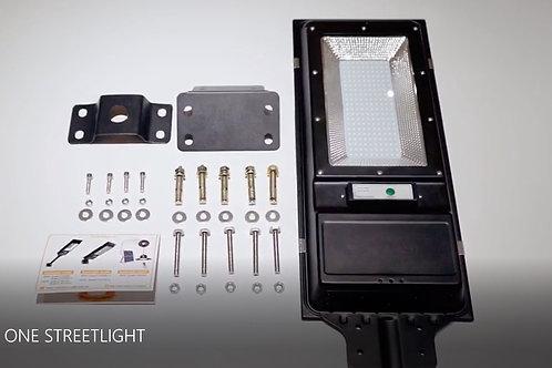 200W Solar Street Light Smart Motion Remote Control Dusk Sensor