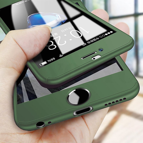 iPhone 12 Case + Tempered Glass  11/Pro/Max/Xs/Xr/X/8/7/Plus