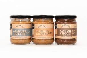 Almond coconut choco carob butter