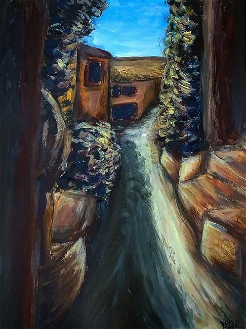peinture ruelle