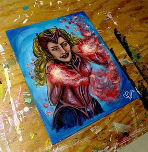 Wanda Maximoff alias Scarlet Witch allie sensibilité et pouvoir avec brio - Sweet Witch