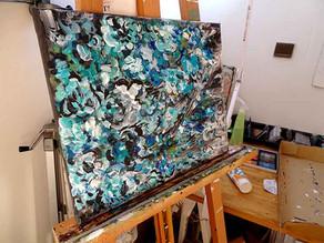 Acheter un tableau de fleurs : peinture de fleurs sur toile