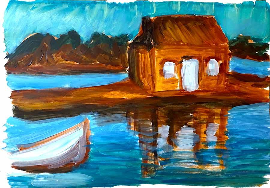cours peindre eau