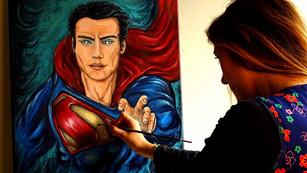 Le fils de Krypton en cours de réalisation