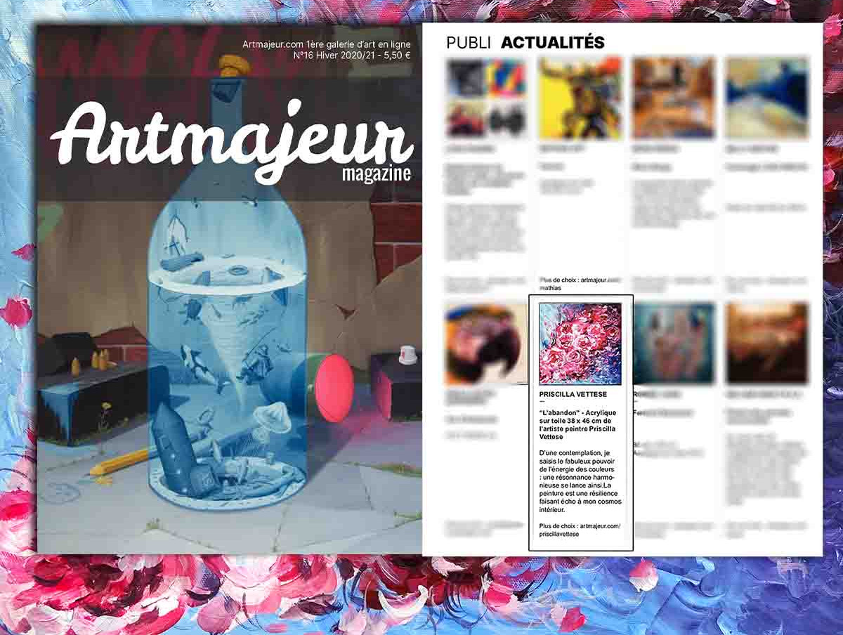 Magazine ArtMajeur Hiver 2021