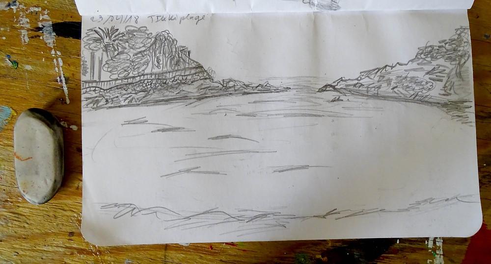 Astuce pour peindre paysage marin