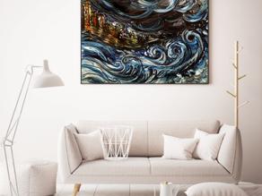 Achat d'une peinture contemporaine en ligne