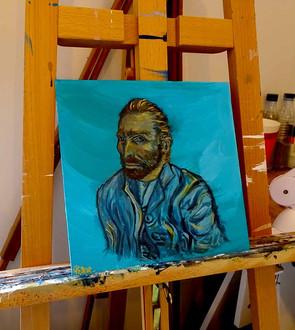 Van Gogh est l'un des artistes préférés de Priscilla - Van Gogh Forever