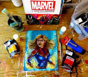 L'univers des Comics inspire beaucoup Priscilla