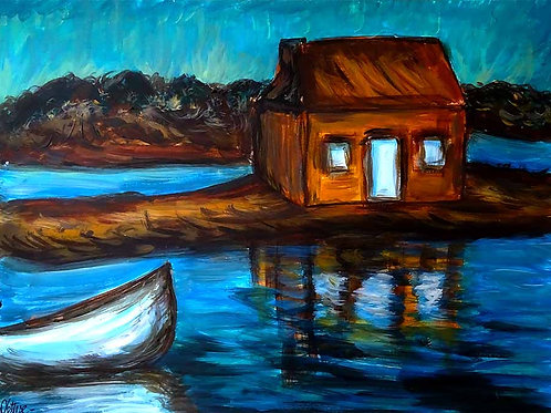 Marine peinture bretagne