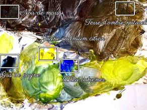 Tutoriel paysage verdoyant: Faire des verts à la peinture acrylique
