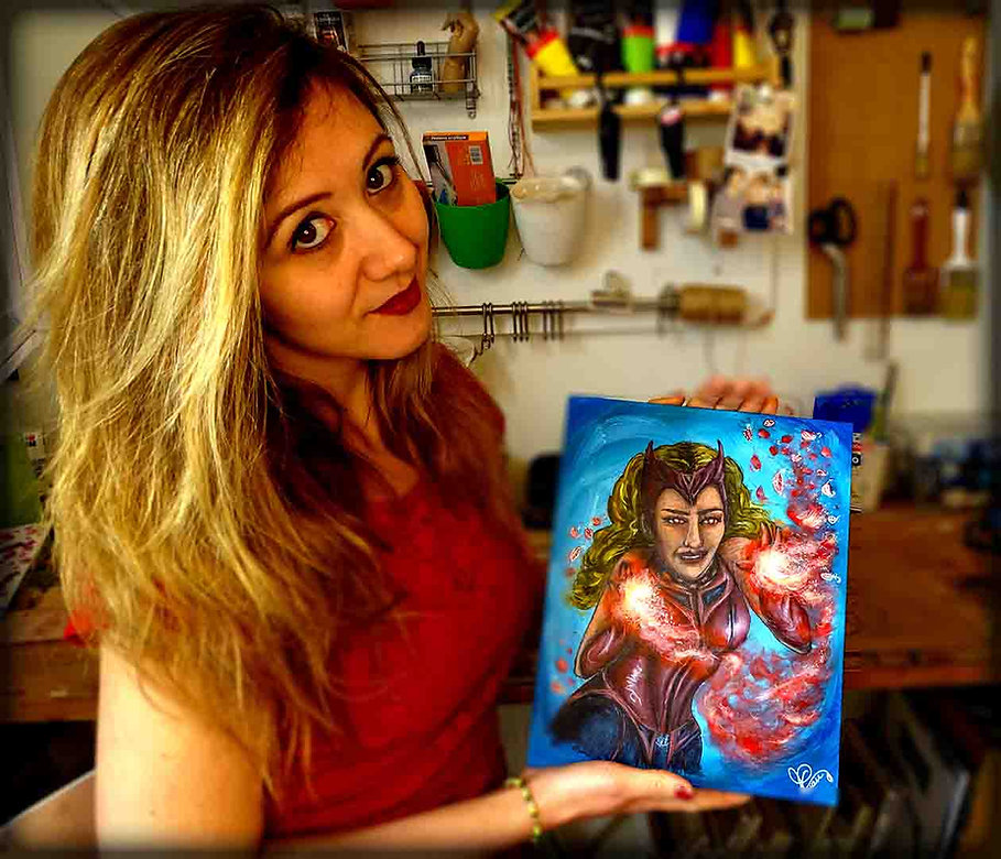 priscilla vettese artiste peintre