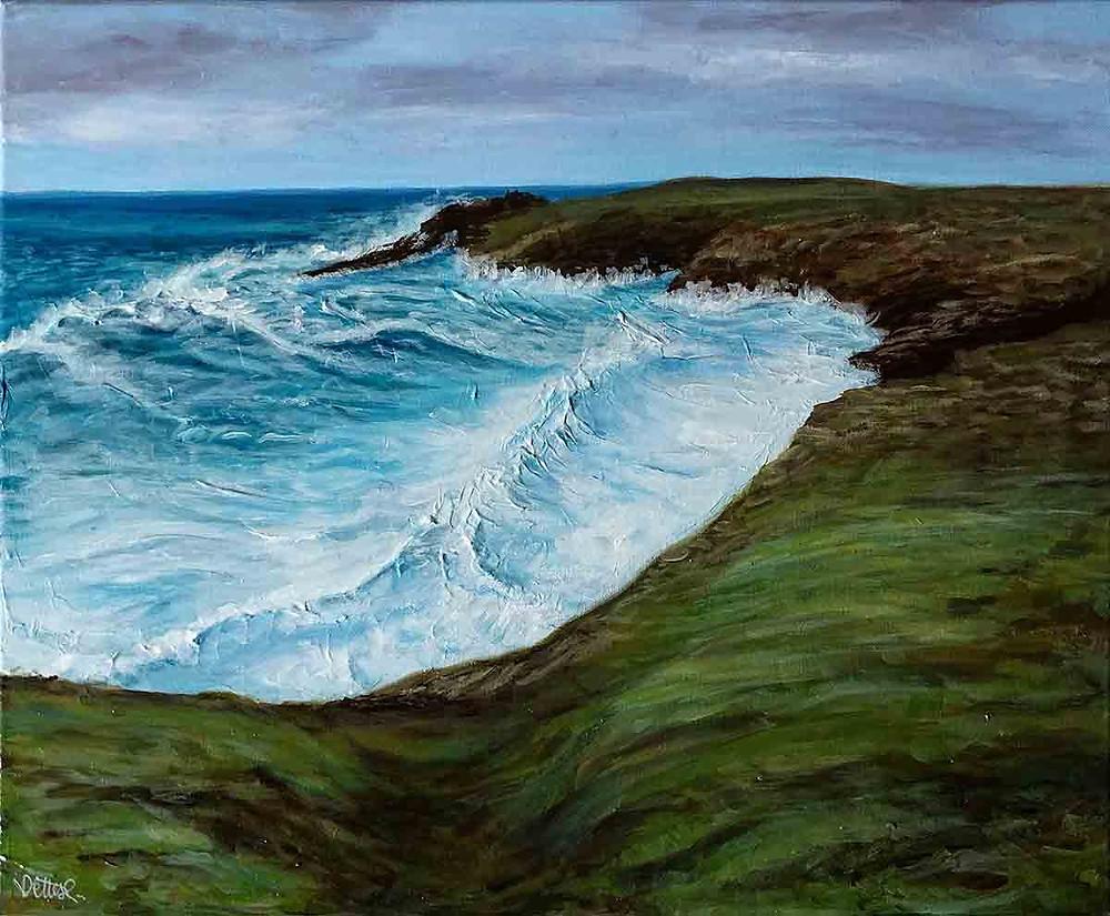 peinture marine quiberon