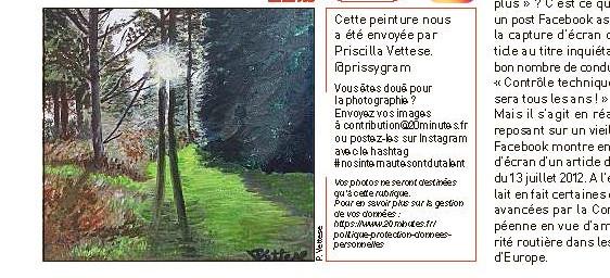 Newspaper 20 Minutes France