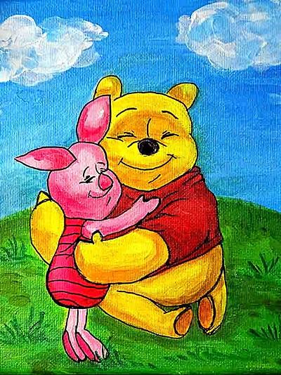 Tableau de Winnie l'Ourson