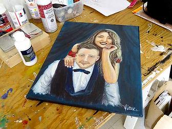 custom painting artist