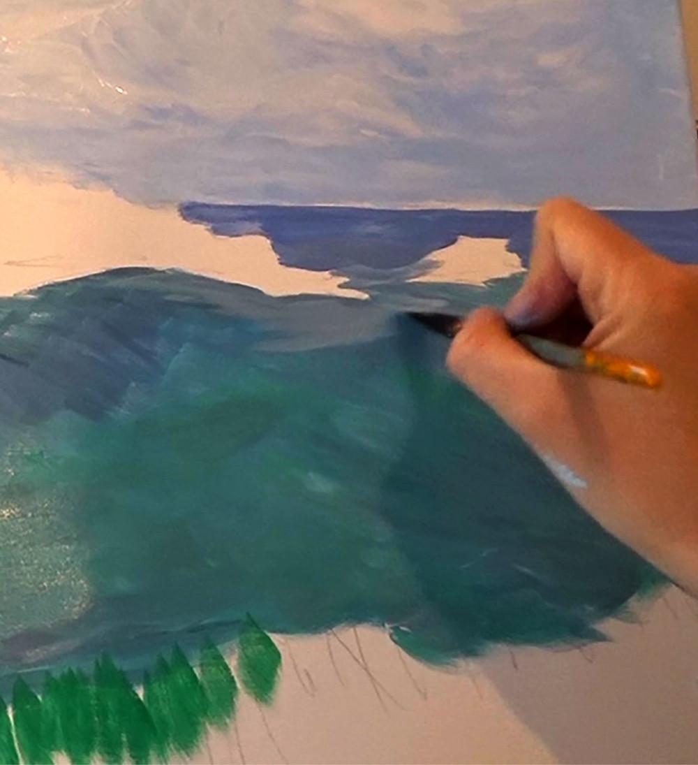 Peinture Acrylique 6 Techniques De Base A Savoir