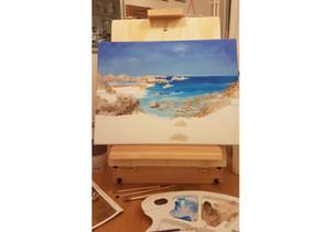 Peindre un paysage marin : 10 astuces à connaître!