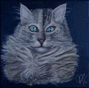 Peinture personnalisée chat Mai 2020