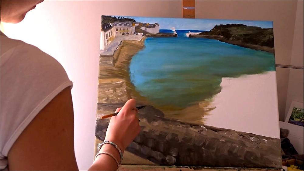 peinture-marine-port-bateau