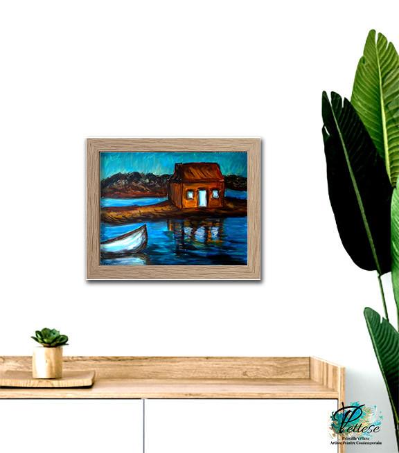 peinture contemporaine marine