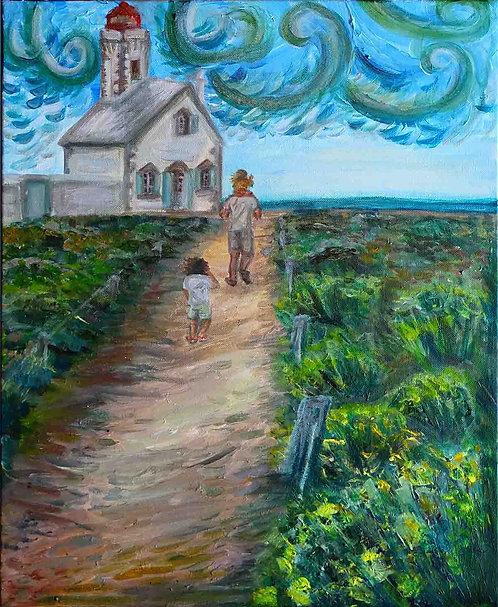 Peinture-phare-paysage