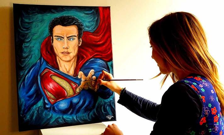 Le Superman sous l'influence de la Kryptonite?