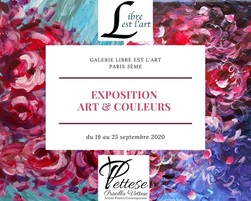 exposition art galerie paris