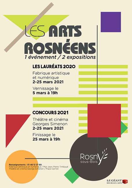 Peinture contemporaine : Exposition d'art à Rosny sous Bois