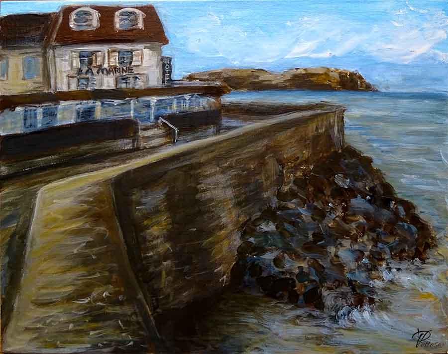 marine peinture