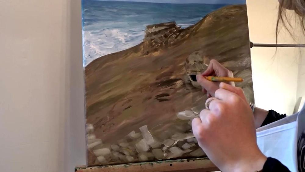 peindre-peinture-paysage-acrylique
