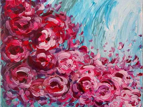tableau-fleurs-contemporain