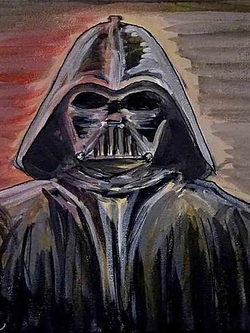 Peinture de Dark Vador