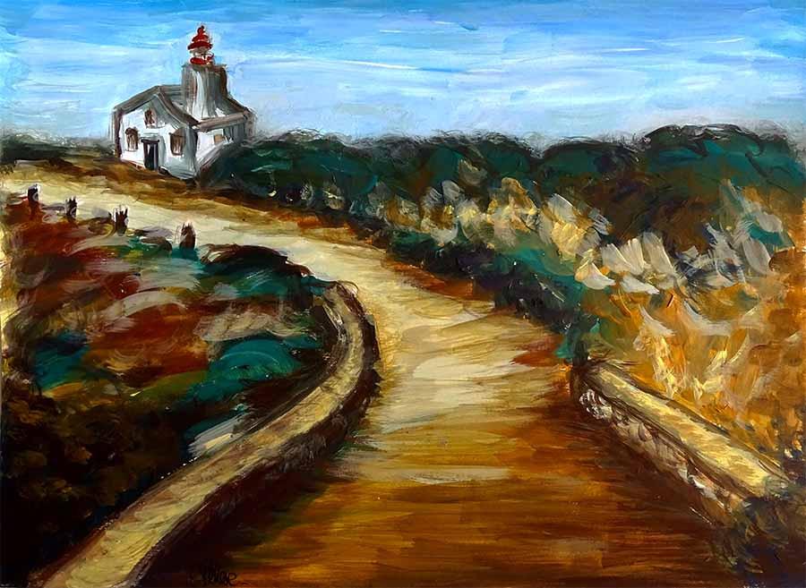 peinture paysage bretagne