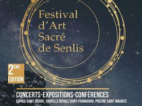 Du 18 au 26 avril 2020 - Exposition au Festival d'Art Sacré de Senlis