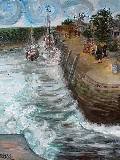 Tableau-port-bateaux