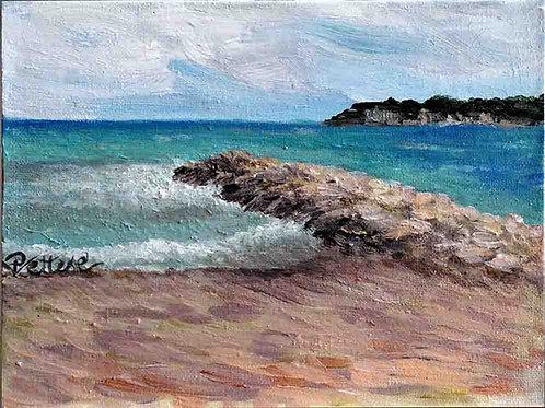 Peinture-mer-plage